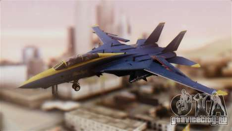 F-14A Tomcat Blue Angels для GTA San Andreas