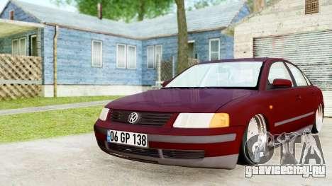 Volkswagen Passat B5 1.8 ADR для GTA San Andreas