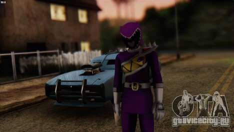 Power Rangers Skin 7 для GTA San Andreas