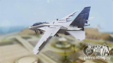 F-14A Tomcat VF-21 Freelancers для GTA San Andreas вид слева