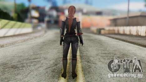 Dead Or Alive 5 Kasumi Ninja Black Costume для GTA San Andreas третий скриншот
