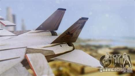 F-14A Tomcat VF-21 Freelancers для GTA San Andreas вид сзади слева