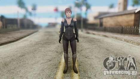 Dead Or Alive 5 Kasumi Ninja Black Costume для GTA San Andreas второй скриншот