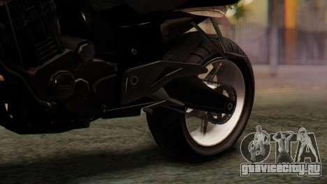 Bajaj Rouser 135 Stunt для GTA San Andreas вид сзади