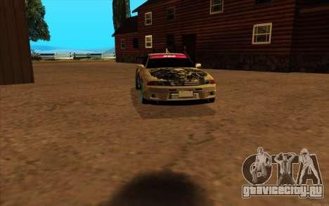 Nissan Skyline R32 RLD для GTA San Andreas вид слева
