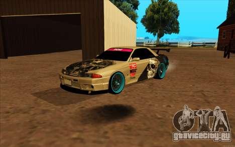 Nissan Skyline R32 RLD для GTA San Andreas