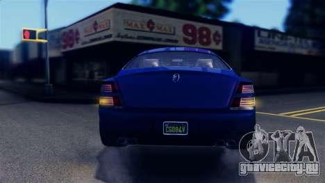 GTA 5 Enus Windsor IVF для GTA San Andreas салон