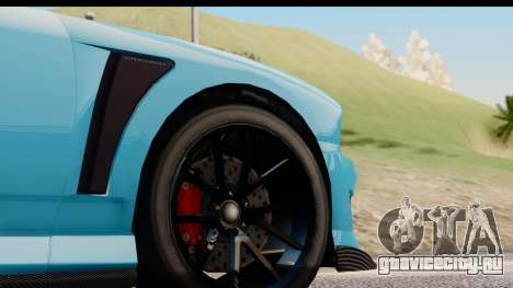 GTA 5 Bravado Buffalo S Sprunk для GTA San Andreas вид сзади