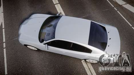 Dodge Charger Traffic Patrol Unit [ELS] bl для GTA 4 вид справа