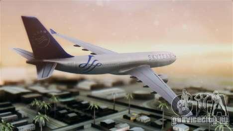 Airbus A330-200 Garuda Indonesia Sky Team для GTA San Andreas вид слева