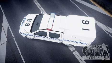 Toyota Hilux NSWPF [ELS] для GTA 4 вид справа