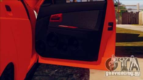 ВАЗ 2112 Turbo для GTA San Andreas вид сбоку
