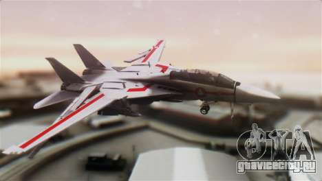 F-14D Tomcat Macross Red для GTA San Andreas