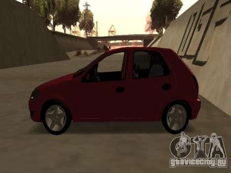 Suzuki Fun 2009 для GTA San Andreas вид сзади слева