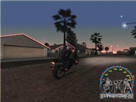 Простой спидометр для GTA San Andreas шестой скриншот