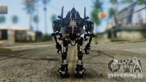 Soldier Jet Skin from Transformers для GTA San Andreas третий скриншот