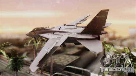 F-14A Tomcat IRIAF для GTA San Andreas вид слева