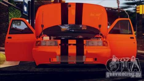 ВАЗ 2112 Turbo для GTA San Andreas вид сзади слева