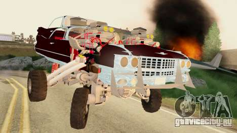 Gigahorse from Mad Max Fury Road для GTA San Andreas