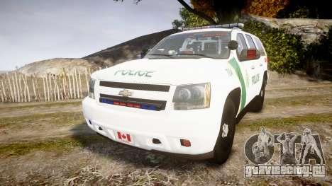 Chevrolet Tahoe Niagara Falls Parks Police [ELS] для GTA 4