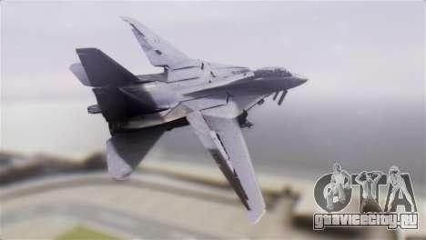 F-14A Tomcat VF-51 Screaming Eagles для GTA San Andreas вид слева