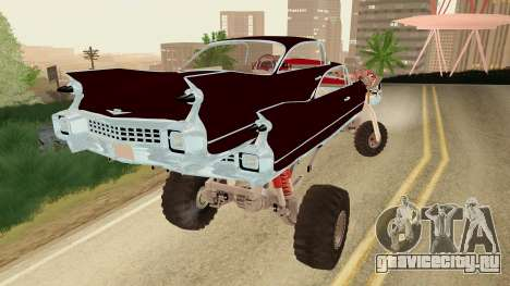 Gigahorse from Mad Max Fury Road для GTA San Andreas вид слева