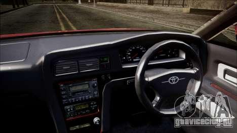 Toyota Chasher Tourer V для GTA San Andreas вид справа