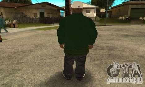 Groove St. Nigga Skin First для GTA San Andreas четвёртый скриншот