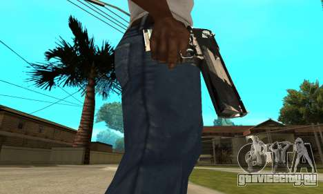 Two Lines Deagle для GTA San Andreas
