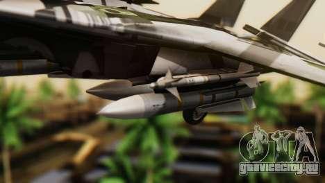 F-14D Super Tomcat VF-2 Bounty Hunters для GTA San Andreas вид справа