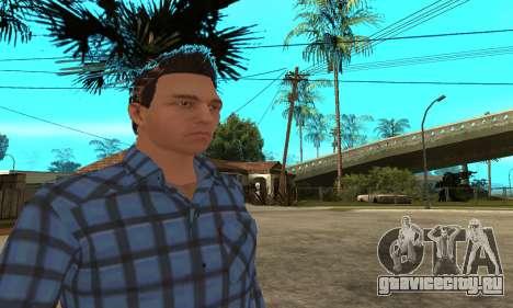 Skin Claude [HD] для GTA San Andreas