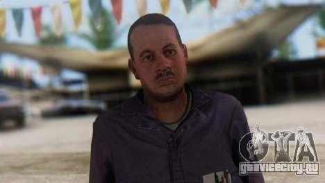 Uborshik Skin from GTA 5 для GTA San Andreas третий скриншот