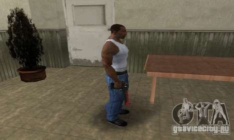 Red Tiger Deagle для GTA San Andreas третий скриншот