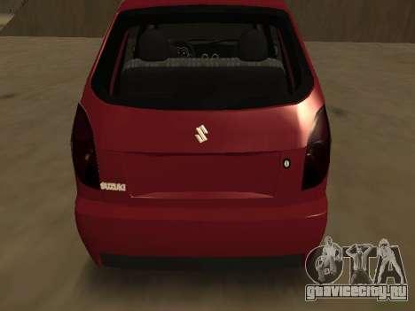 Suzuki Fun 2009 для GTA San Andreas вид справа