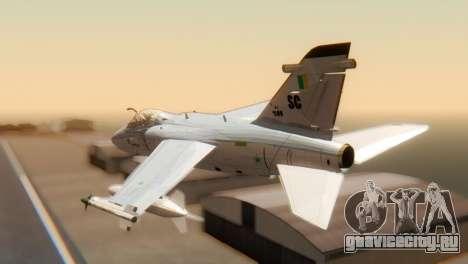 Embraer A-1 AMX FAB для GTA San Andreas вид слева
