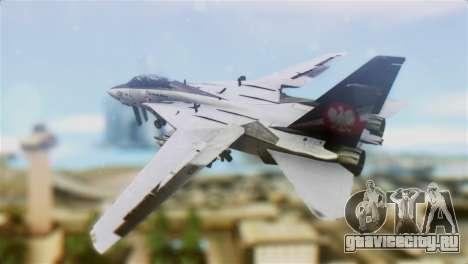 F-14D Super Tomcat Polish Navy для GTA San Andreas вид слева