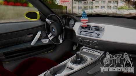 BMW Z4 Ens Yapım для GTA San Andreas вид справа