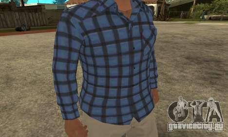 Skin Claude [HD] для GTA San Andreas второй скриншот