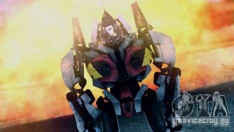 Soldier Jet Skin from Transformers для GTA San Andreas