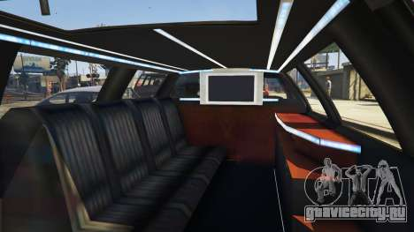 Вызов лимузина v0.6b для GTA 5 третий скриншот