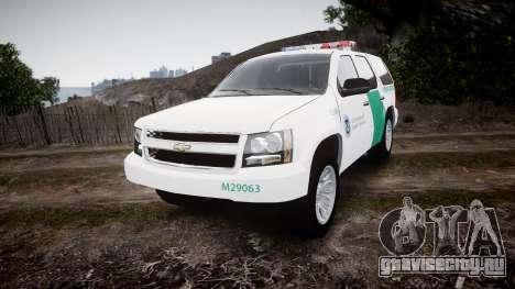 Chevrolet Tahoe Border Patrol [ELS] для GTA 4