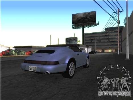 Простой спидометр для GTA San Andreas четвёртый скриншот