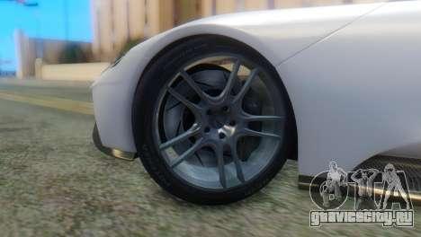 Ford GT 2017 для GTA San Andreas вид сзади слева