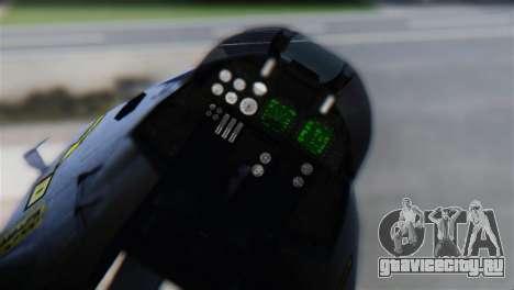 Tomcat FG.Mk.III FAA Sqn. 801 для GTA San Andreas вид сзади