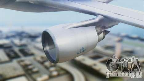 Airbus A330-200 KLM New Livery для GTA San Andreas вид справа