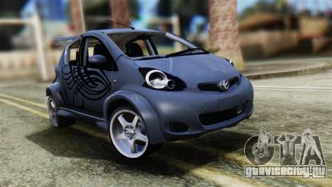 Toyota Aygo Sporting для GTA San Andreas