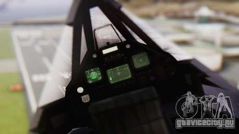 Lockheed F-117 Nighthawk ACAH для GTA San Andreas вид справа