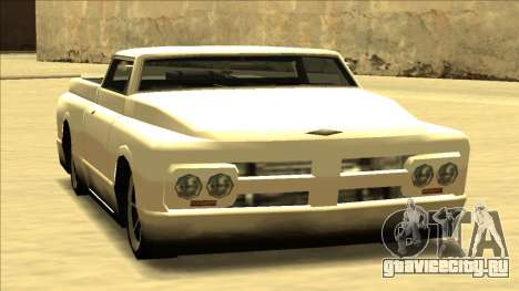 Slamvan Final для GTA San Andreas вид сзади