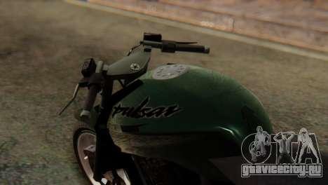 Bajaj Rouser 135 Stunt для GTA San Andreas вид справа