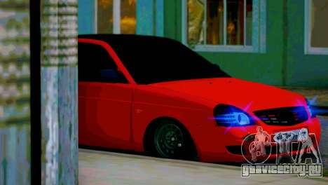 Lada 2170 Priora Спартак Москва для GTA San Andreas салон